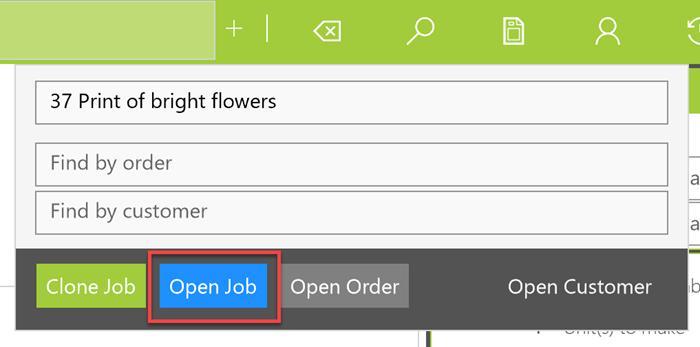 open framing job