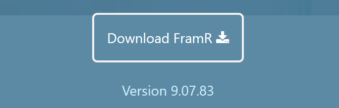 download the latest version of framiac FramR