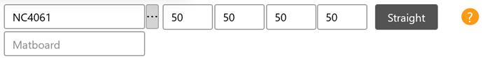 enter matboard margins