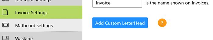 add custom letterhead